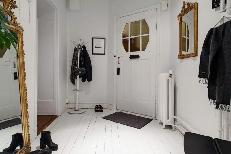 Прихожая в скандинавском стиле - 42 реальных фото